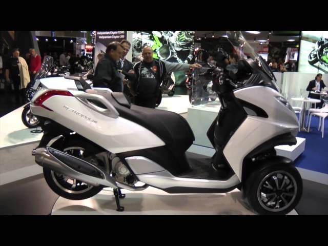 Vid�o Le Peugeot Metropolis 400i dans les starting-blocks � Intermot : Grosse menace pour le MP3...