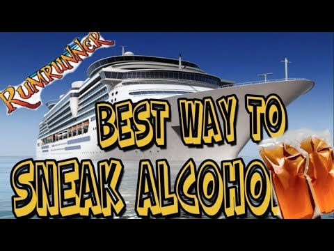 Rum Runner Flask Sneaking Alcohol On Cruise Ship How To Save Money And Do It Yourself