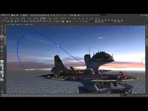 Maya 2012 New Features - Animation Part 2 - editable motion trails