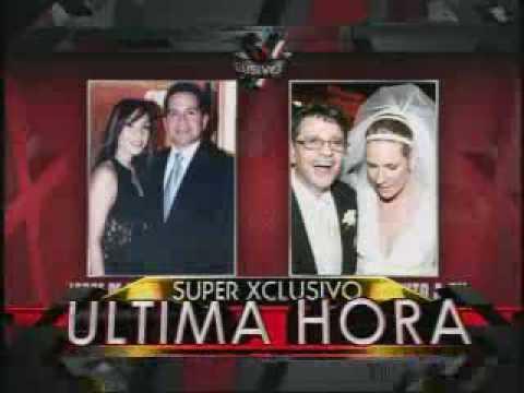 SuperXclusivo 3/31/10 - Jorge De Castro Font es abandonado por su esposa