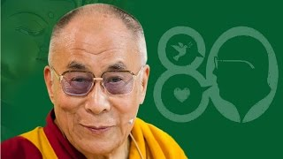 Happy 80th Birthday Your Holiness  the Great 14th Dalai Lama!