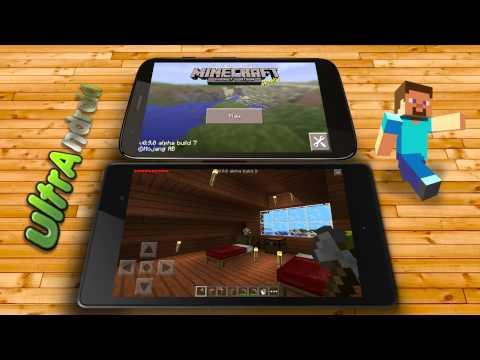 como jugar Minecraft PE 0.9.5 con un amigo multijugador offline sin Internet 2014
