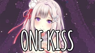 download musica 「Nightcore」→ One Kiss cover