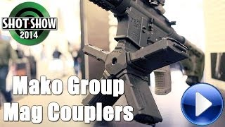 Mako Group AR-15 Mag Coupler @ 2014 SHOT Show