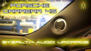 2015 Porsche 911 (991) Carrera 4S Audio Upgrade