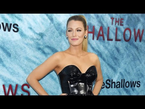 EXCLUSIVE: Blake Lively on Getting Bikini Ready for 'The Shallows' Just 10 Months After Giving Bi…