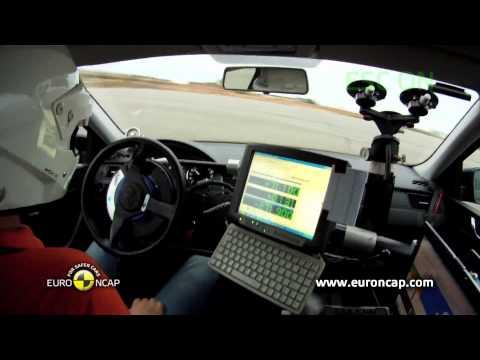 Euro NCAP | Skoda Rapid | 2012 | Электронный контроль устойчивости