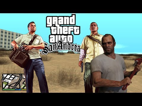 Como Instalar o Radar e HUD DO GTA V NO GTA San Andreas
