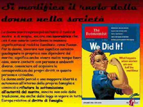 emancipazione della donna