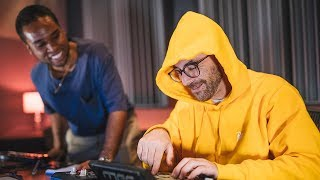 Alchemist & Lunice Making Beats for the Red Bull BC One World Final