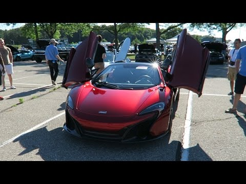 Massive MSU Car Meet! | McLaren 650S, BMW i8, Ferrari F430 And More!
