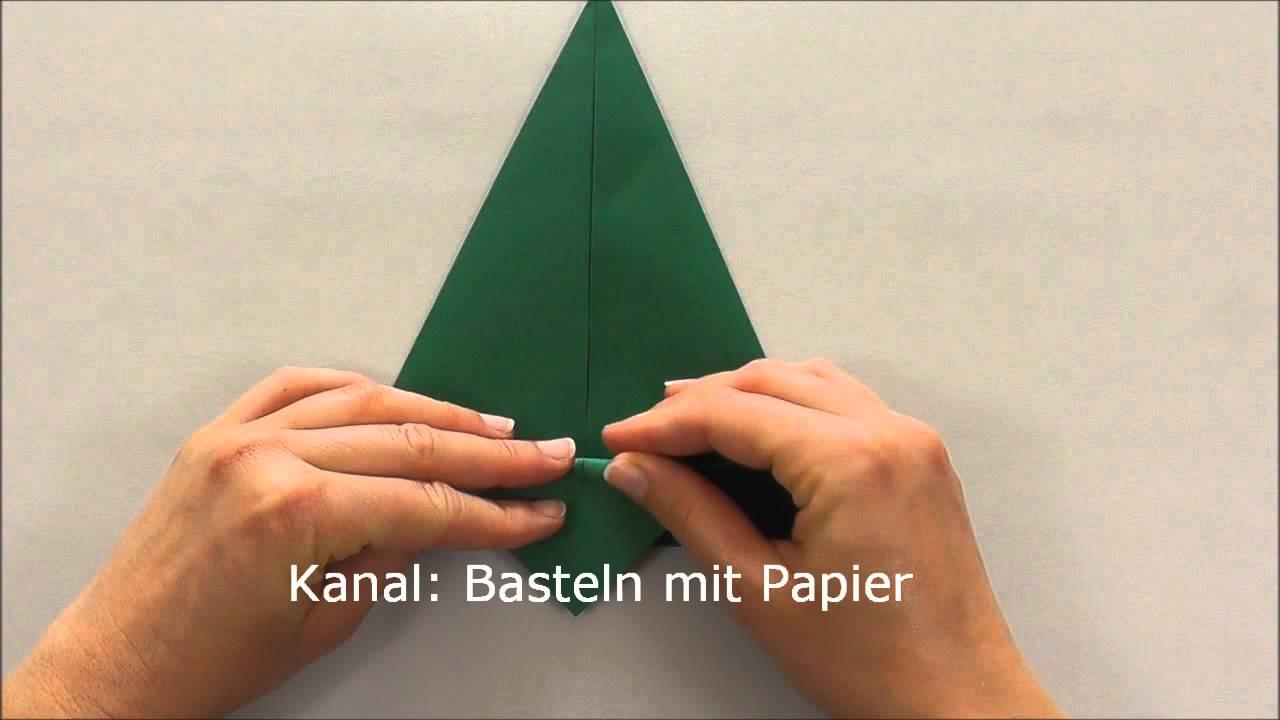 tannenbaum basteln anleitung weihnachtsbaum basteln youtube. Black Bedroom Furniture Sets. Home Design Ideas
