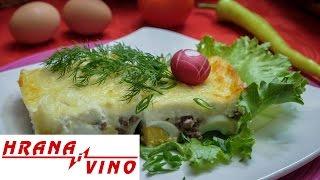 Pečeno mleveno meso sa jajima | Hrana i Vino SR