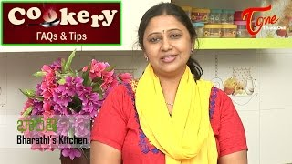 Cookery Tips & FAQs | How to Improve Thickness in Sambar