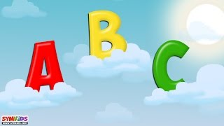 ABC Song in The Clouds | ABC Song | Alphabet Songs