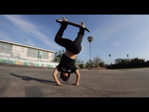THE SKATEBOARDING CARTWHEEL