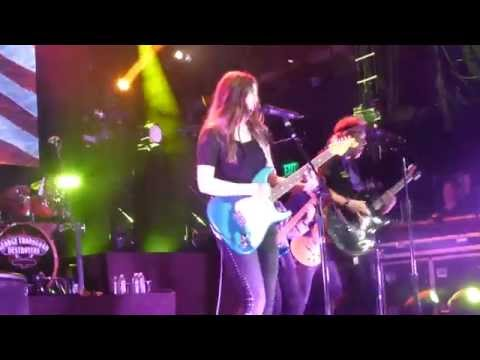 George Thorogood with special guest - daughter Nia Thorogood