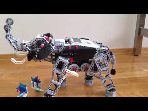 LEGO MINDSTORMS EV3. Elephant
