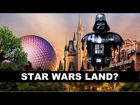 Star Wars Disney World Ride Star Wars Land at Walt Disney