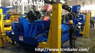 High Quality Mobile Scrap Metal Baler