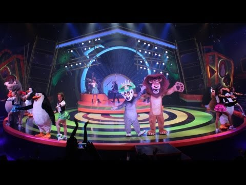 Madagascar LIVE! Operation: Vacation, Busch Gardens Tampa - NEW Show Media Preview - w/ King Julien
