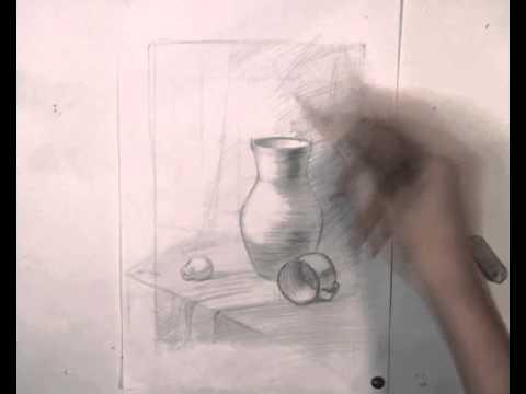 Уроки Натюрморт - видео