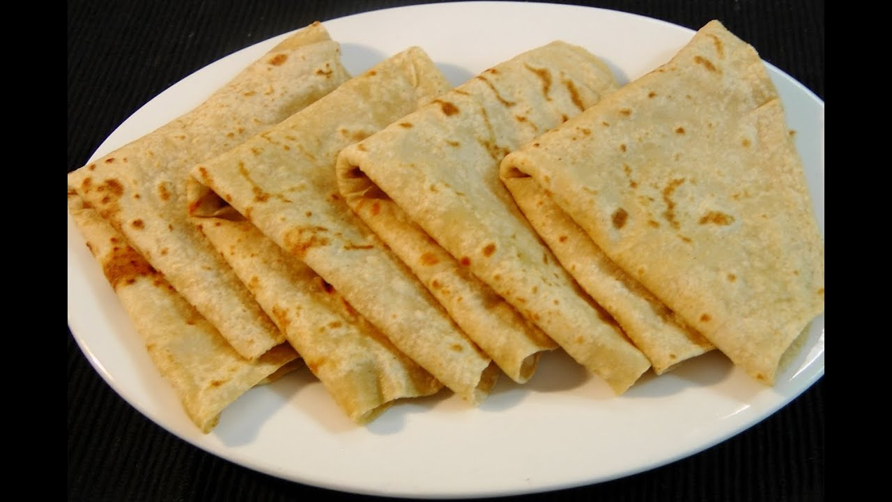 How to make roti / chapati / poli (Layered roti) - YouTube