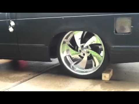 S 10 Blazer Stock Floor Body Drop On 22 S Youtube