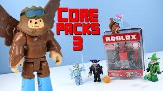 Roblox Series 3 Core Packs Bigfoot Boarder Headless Horseman and More Jazwares
