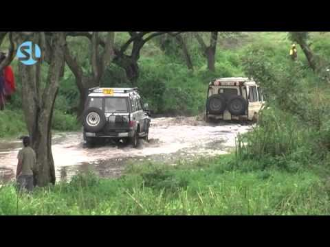 River is going wild in Ngorongoro 2007