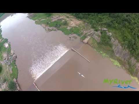 Gauging Weir - Umgeni River (medium-low level)