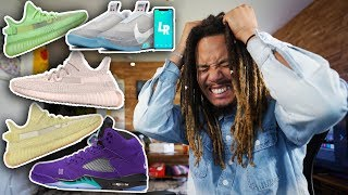 ADIDAS IS RUINING THE YEEZY (RANT) ! 2020 GRAPE 5s, NIKE SB x JORDAN 1 LAKERS , AIR MAG ADAPT BB !!!