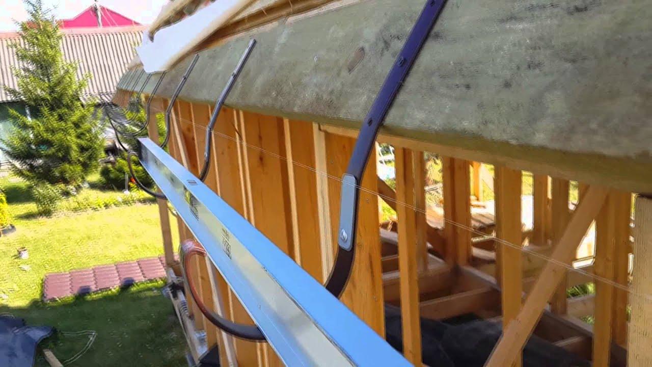 Как сделать водоотвод с крыши своими руками из подручных материалов