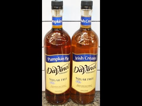 DaVinci Gourmet Sugar Free: Pumpkin Pie & Irish Cream Syrup Review