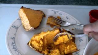 How to make baked sweet potato / yam