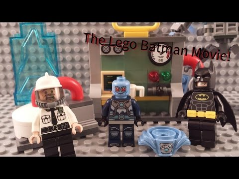 The Lego Batman Movie! Mr. Freeze Ice Attack! Set Build and Review 70901