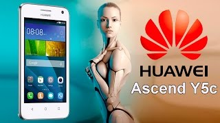 Huawei Y5C White Распаковка смартфона - Unboxing Smartphone Хуавей