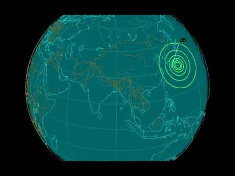 EQ3D ALERT: 5/6/16 - 5.2 magnitude earthquake in the East China Sea