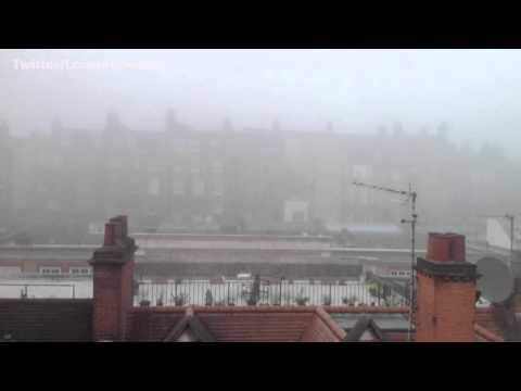 Best social media pictures of fog in London