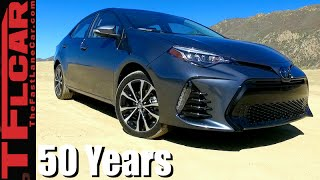 2017 Toyota Corolla First Drive Review: 50 Years & Still Selling Strong