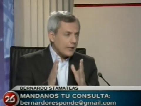 ¨Los miedos¨ por Bernardo Stamateas en Canal 26