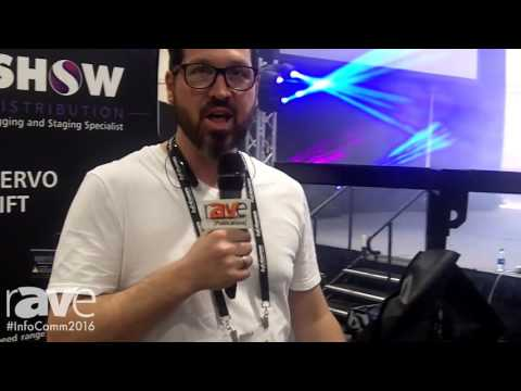 InfoComm 2016: Show Distribution Previews Its Servo Lift Hoist on Set-Up Day at InfoComm 2016