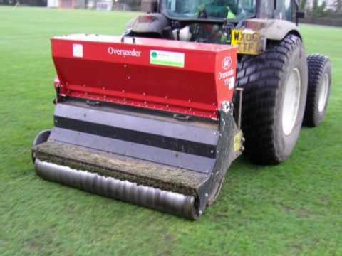 overseeding machine