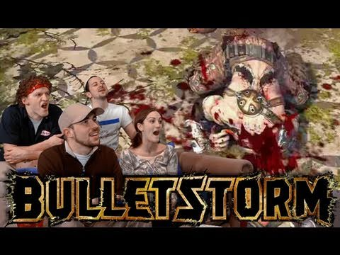 Bulletstorm Demo is AWESOME! - Video Games AWESOME!
