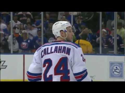 New York Rangers New York Islanders Shootout 2/24/12