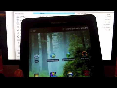 "How to Root your Pandigital Supernova 7"" to Google Play Android Tablet"