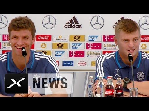 Toni Kroos und Thomas Müller: Keine Lust auf Olympia   Deutschland - Polen   EM-Quali