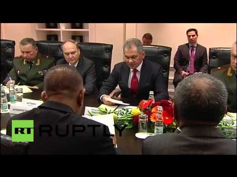 Russia: MOD Sergei Shoigu meets Indonesian counterpart