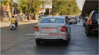 Volkswagen Polo and Vento facelift spotted testing in India | CAR NEWS 2019