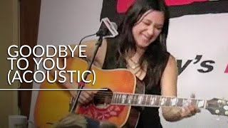 Michelle Branch - Goodbye to you (Acoustic) on WIVK FM